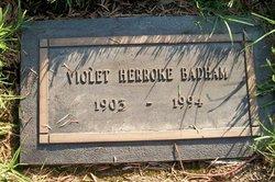 Violet Herroke <i>Bowers</i> Badham