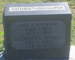Anna B. <i>Davis</i> Harwood