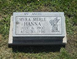 Myra Merle <i>Mattocks</i> Hanna