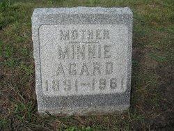 Minnie <i>Newquist</i> Agard