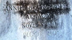 Annie Ola <i>Brantley</i> Attaway