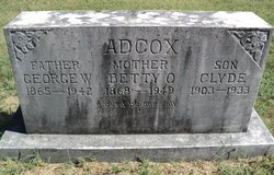 Betty <i>Overton</i> Adcox