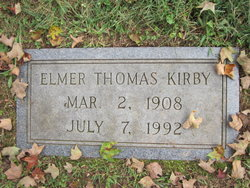 Elmer Thomas Kirby