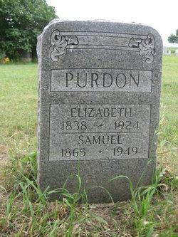 Eliza <i>McCaughan</i> Purdon