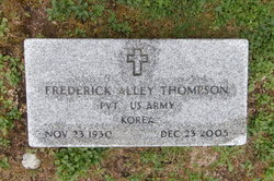 Frederick Alley Freddie Thompson