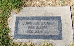 Lowella Leland <i>Frost</i> Carr