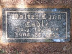 Walter Lynn Cadle