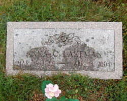Anna Miller <i>Carver</i> Lakeman