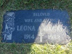 Leona Alpha <i>Fuller</i> Hacker
