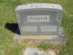 Mary Elizabeth <i>Miller</i> Baker