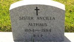 Sr Ancilla Althaus