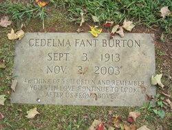 Cedelma <i>Fant</i> Burton