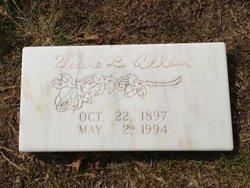 Bessie Lois Mimi <i>Forman</i> Allen