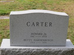 Betty <i>Hardenbergh</i> Carter