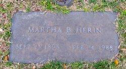 Martha B Herin