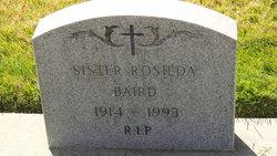 Sr Rosilda Baird