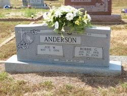 Bobbie Geraldine <i>Mills</i> Anderson