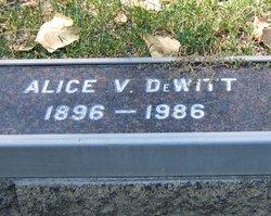 Alice V. De Witt