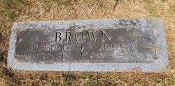 Agnes F <i>Bradshaw</i> Brown