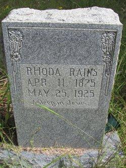 Rhoda <i>Woods</i> Rains