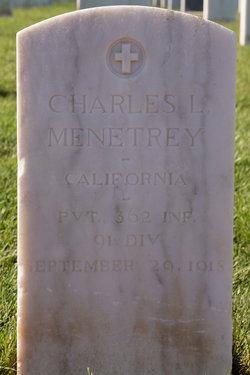 Charles L Menetrey