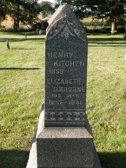 Elizabeth <i>Osborne</i> Kitchen
