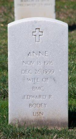 Anne Bodey