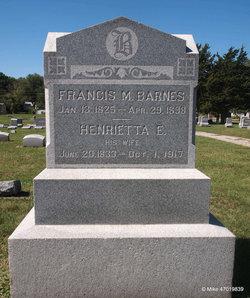 Henrietta E <i>Nall</i> Barnes