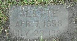 Alette <i>Christiansdatter</i> Knutson