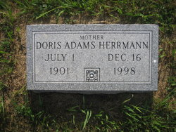 Doris Evelyn <i>Meyers</i> Adams Herrmann