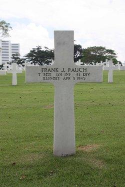 TSgt Frank J Rauch