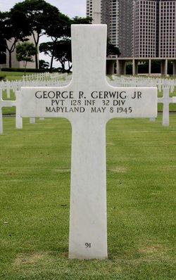 Pvt George R Gerwig, Jr