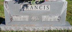 Sarah Elizabeth <i>Worsham</i> Francis