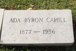 Ada <i>Byron</i> Cahill