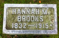 Hannah M <i>LaMoreaux</i> Brooks