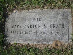 Mary <i>Barton</i> McGrath