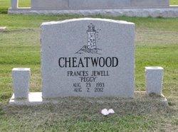 Frances Jewel Peggy <i>Stover</i> Cheatwood