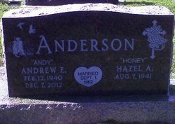 Andrew Edwin Andy Anderson