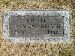 Mary Ann <i>Alexander</i> Nelson