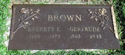 Everett Earl Brown