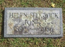 Helen <i>Sedgwick</i> Jones