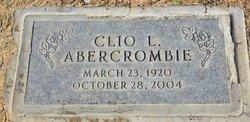 Clio L Abercrombie