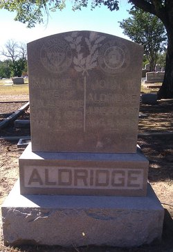 Nannie I. <i>Montgomery</i> Aldridge