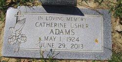 Catherine <i>Usher</i> Adams