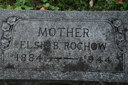 Elsie B <i>Scherzer</i> Rochow