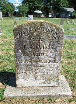 Marcia <i>Baker</i> Blanton