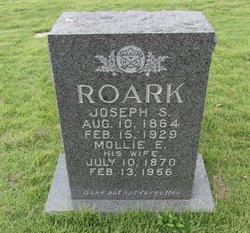 Mary E Mollie <i>Miles</i> Roark