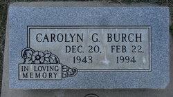 Carolyn <i>Gordon</i> Burch