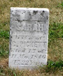 Sarah Adcock <i>Emry</i> Pickett
