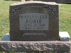 Marian Lee Smothers Rorie